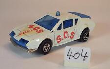 Majorette 1/55 Nr. 264 Renault Alpine A 310 SOS auf der Motorhaube Nr. 2 #404