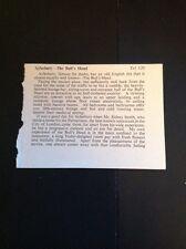 M2-1 Ephemera 1948 Article Review Aylesbury The Bull's Head