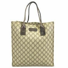 100% authentic Gucci tote bag Square type 91240 Used 52-9-o