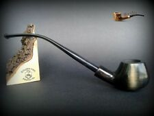 WOODEN TOBACCO SMOKING PIPE  CHURCHWARDEN no 54 Black   LONG  PEAR + BOX