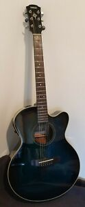Yamaha CPX-5 TBB Electro-acoustic guitar, fantastic sound, road worn.