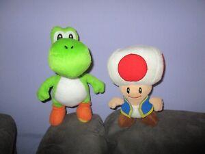 Supermario soft plush toys-TOAD & YOSHIE bulk lot