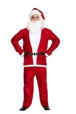 Men's Adult Santa Suit Father Christmas Fancy Dress Costume Xmas Outfit NEXT DAY