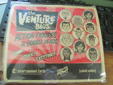 The Venture Bros. Figures & Bobble Heads SEALED MOUSE PAD adult swim biff bang