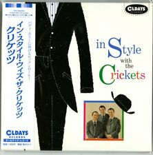 THE CRICKETS-IN STYLE WITH THE CRICKETS-JAPAN MINI LP CD BONUS TRACK C94