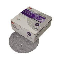 "3M 1810 Hookit Purple 6"" P500C Grit 334U Clean Sanding Disc"