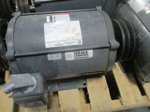 Emerson R341 AC Motor D7P2B 7.5HP 1800RPM 230/460V 18.4/9.2A 3Ph 60Hz Used