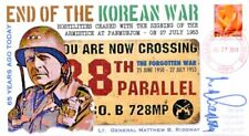 COVERSCAPE computer generated 65th anniversary end of Korean War event cover
