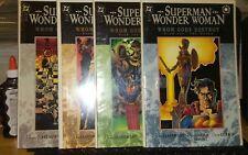 Superman Wonder Woman Whom Gods Destroy 1 2 3 4 Comp Set Rare B&B Vf/Nm