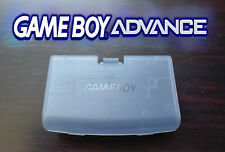Cache Piles GameBoy Advance Glacier Violet clair GBA Battery Cover Clear Purple
