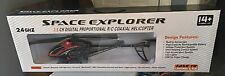 Space Explorer 3.5 Channel 2.4 GHZ Proportional R/C Coaxial Helicopter ~NIB~
