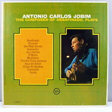 Antonio Carlos Jobim Composer of Desafinado Plays  Original Verve VG+  VG +