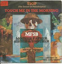 "MFSB - MOTHER FATHER SISTER & BROTHER - Tsop VINYL 7"" 45 LP ITALY 1974 VG+/ VG-"