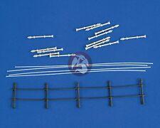 Verlinden 1/35 Railings (Handrail - Guard Rail) [Resin Diorama Accessory] 2196