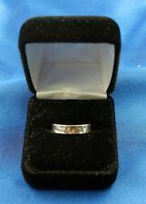 James Avery Sterling Silver Hammered Band/Ring Size 9