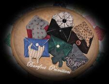 Sewing Helper Pin Cushion bird cat bunny heart shamrock envelope  Paper Patten
