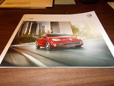 2012 Volkswagen GTI 20-page Sales Catalog