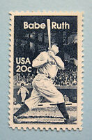 "Sc # 2046 ~ 20 cent George Herman ""Babe"" Ruth Issue (dc31)"