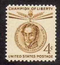 Scott #1110...4 Cent...Simon Bolivar....50 Stamps