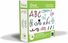 *New* CALLIGRAPHY w/ FREE Universal Overlay Cricut Cartridge Unopened Free Ship