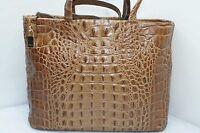New Furla Brown Bag Urban Satchel Tote Shoulder Handbag