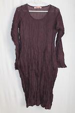 cocon.commerz PRIVATSACHEN COUTURENDE  Kleid aus Nettel in weinrot Gr. 1