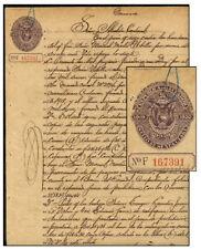 ECUADOR 1919-1920 50¢ PAPEL SELLADO
