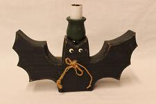 CUTE HANDMADE WOODEN BAT LAMP HALLOWEEN