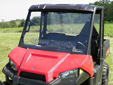 2015+ Polaris Mid-Size 1-Piece Vented Windshield-FREE SHIPPING