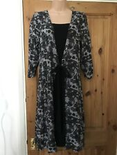 Rosa Benini Women's Ladies Dress Black Size Uk 14