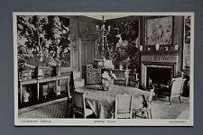 R&L Postcard: Scotland Lauriston Castle Edinburgh, Norward Inglis, Dining Room