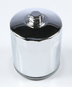 Harddrive Oil Filter Chrome for  Twin Cam w/ Hex 14-053