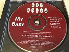 LIL ROMEO MY BABY 4 MIX RARE OOP PROMO CD FREE SHIPPING NM