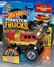 Hot Wheels Monster Truck Fast Foodie Series Oscar Mayer Wienermobile Htf!
