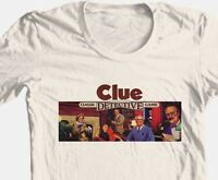 Clue T-shirt retro board game 1980's vintage toy 100% graphic cotton tee