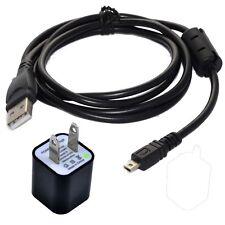USB Cargador Datos SINCRONIZACIÓN Cable Cable para Nikon Coolpix S6400 S6500 S8200 Cámara