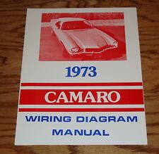 1973 Chevrolet Camaro Wiring Diagram Manual 73 Chevy