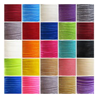 6mm & 10mm COLOURFUL VELVET LUXURY RIBBON *23 COLOURS* VELVETEEN RIBBON CRAFTS