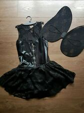 Ann Summers Fallen Angel With Wings Fancy Dress Halloween Costume S 8-10 New Tag