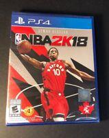 NBA 2K18 [ Demar Derozan Cover ] (PS4) NEW