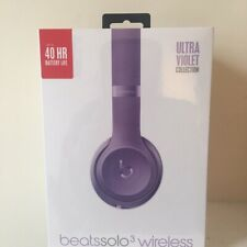 Beats by Dr. Dre Solo3 Wireless Over the Ear Headphones - Ultra Violet