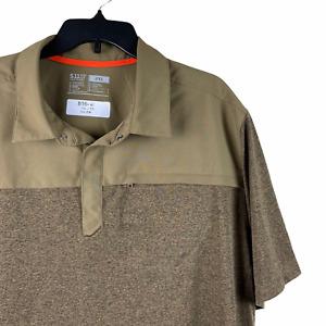 5.11 Tactical Men's Rapid Short Sleeve Polo Shirt Regular Fit 71351 Men's 2XL
