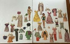 vintage Judy Garland # 996 Paper Dolls 1945 by Whitman used cut