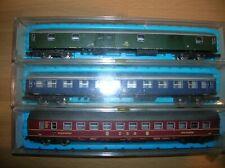 Rivarossi/Atlas N Coaches 2681; 2685; 2687 DB 1st + P O + DSG near-mint Boxed