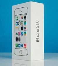 APPLE iPHONE 5S 16GB SILVER 4G UNLOCKED - BRAND NEW & SEALED MOBILE PHONE