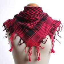Keffieh,foulard noir et fushia 1x1m