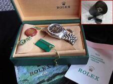 ROLEX Datejust Watche 16234  Watch Black Serviced & Automatic Winding Machine