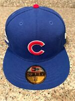 New Era Chicago Cubs GAME 59Fifty Fitted Hat (Royal Blue) MLB Cap Size 7 3/8