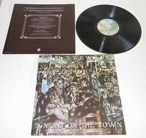 "ROD STEWART ""A NIGHT ON THE TOWN""~ 1976 VINYL LP RECORD ALBUM~ NEAR MINT"