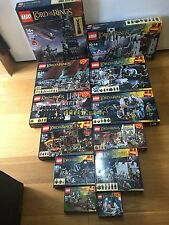 🔰NEW🔰 12x Lego Lord of the Rings LOTR Sets Including 10237 🔰NO MINIFIGURES🔰